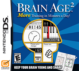 <i>Brain Age 2: More Training in Minutes a Day!</i> video game