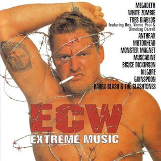 <i>ECW: Extreme Music</i> 1998 compilation album by Various Artists