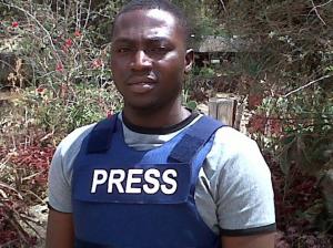Enenche Akogwu Nigerian journalist and cameraman