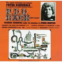 <i>Peter Schickele Presents an Evening with P. D. Q. Bach (1807–1742?)</i> live album by Peter Schickele