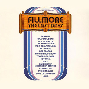 <i>Fillmore: The Last Days</i> 1972 live album by various artists