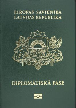 Latvian passport
