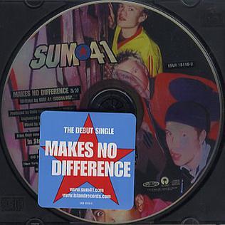 Titelbild des Gesangs Makes No Difference von Sum 41