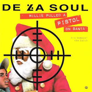 De La Soul - Millie Pulled A Pistol On Santa [CDS] (1991)