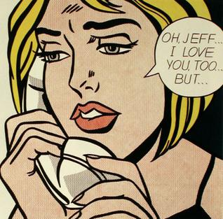 <i>Oh, Jeff...I Love You, Too...But...</i> painting by Roy Lichtenstein