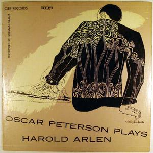 <i>Oscar Peterson Plays Harold Arlen</i> 1955 studio album by Oscar Peterson