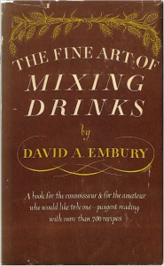<i>The Fine Art of Mixing Drinks</i> 1948 book about cocktails