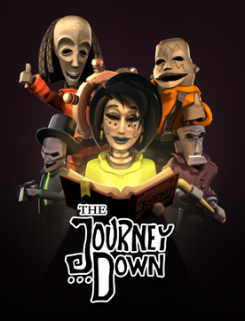 Picture of a game: The Journey Down