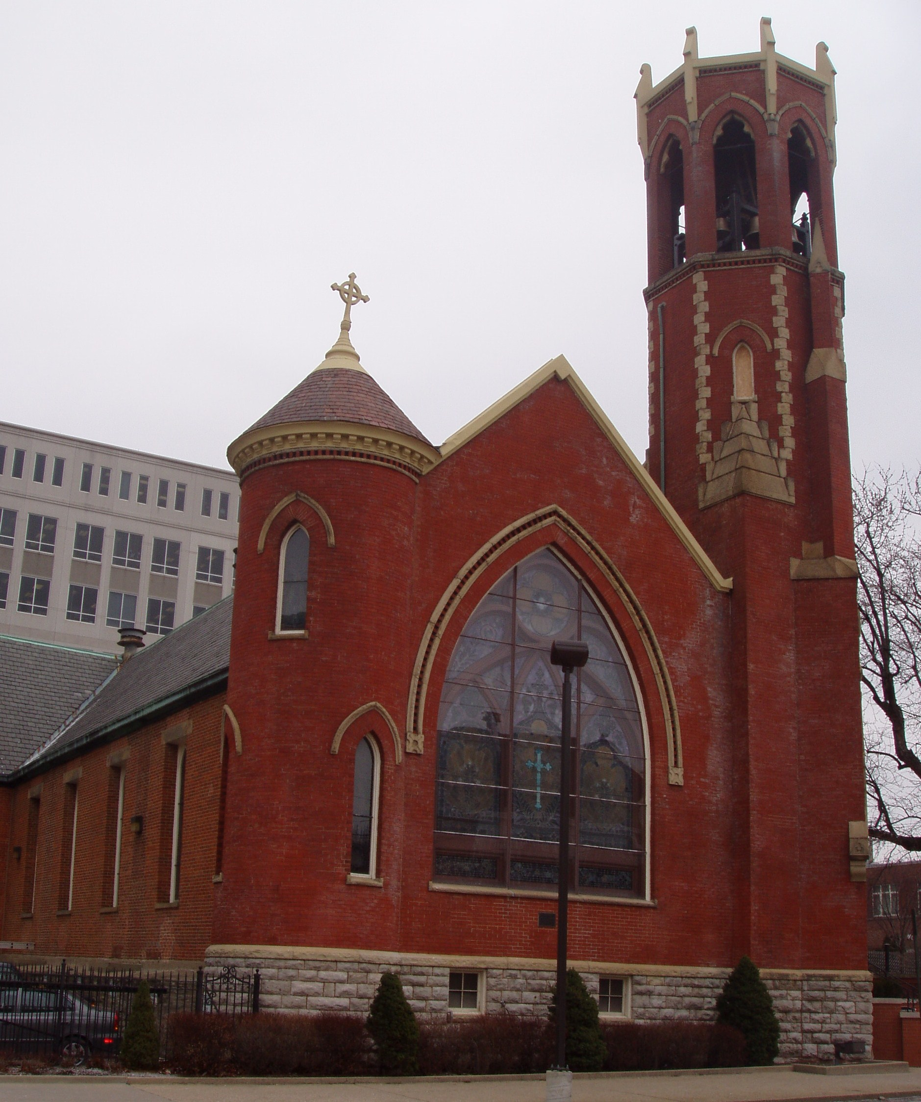 Trinity episcopal church covington kentucky for The covington