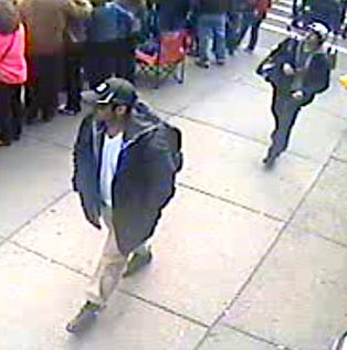 FBI images of suspects