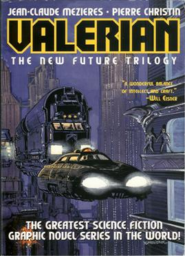 Cover of Valerian: The New Future Trilogy. Valerian New Future Trilogy.jpg