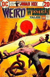 Weird Western Tales #14 (DC, Nov 1972). Cover art by DeZuniga Weird western tales 14.jpg