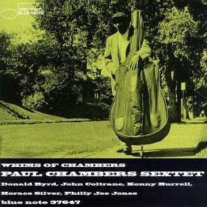 <i>Whims of Chambers</i> 1957 studio album by Paul Chambers Sextet