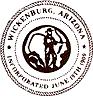 Официальная печать Викенбурга, Аризона