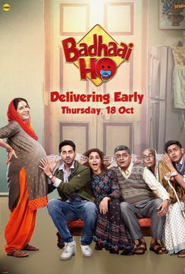 Download Badhaai Ho 2018 Hindi 480p | 720p BluRay