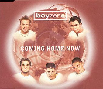 Cover image of song Coming Home Now by Boyzone