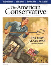 Cover September October 2016 edition of The American Conservative