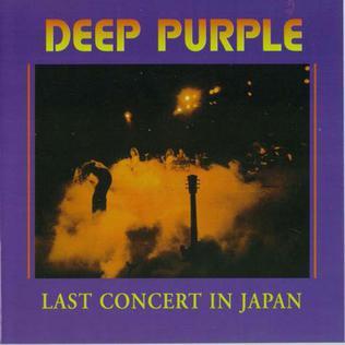 <i>Last Concert in Japan</i> 1977 live album by Deep Purple