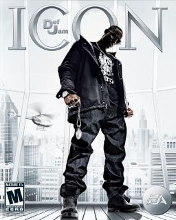 Cover of the Xbox 360 version of Def Jam: Icon.