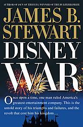 <i>DisneyWar</i> book by James B. Stewart