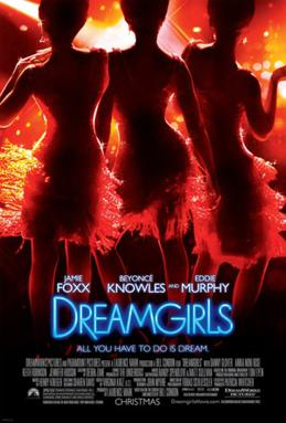Movie poster for DREAMGIRLS