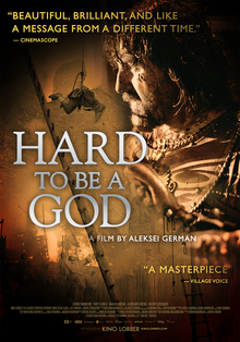 Hard to Be a God (2013 film) POSTER.jpg