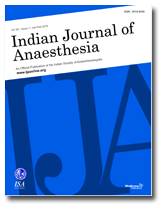 Indian Journal of Anaesthesia - Wikipedia