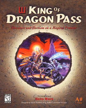 Picture of a game: King Of Dragon Pass
