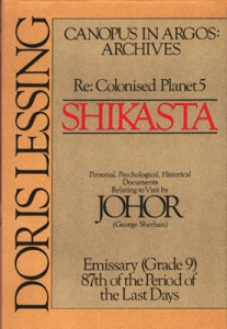<i>Shikasta</i> Novel by Doris Lessing