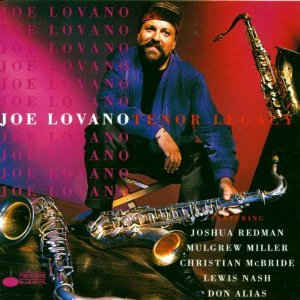 <i>Tenor Legacy</i> (Joe Lovano album) 1993 studio album by Joe Lovano