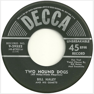 Two Hound Dogs song