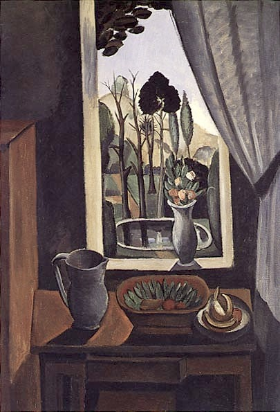 file andr derain 1912 window on the park la f netre