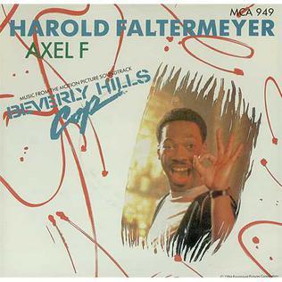 Axel F 1984 single by Harold Faltermeyer