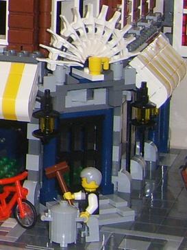 Lego Modular Buildings...