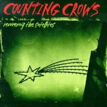 A green cover with a crude drawing of a star and the name of the album and artist's names scrawled on it