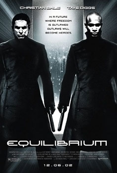 Film poster for Equilibrium