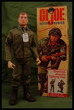 Vintage Action Man Talking Commander Neck Joint