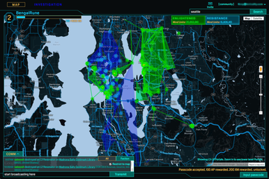 Ingress Intel Map full screen