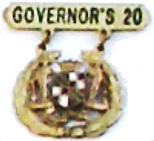 Maryland's Law Enforcement Governor's 20 Badge