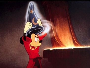 Mickey In Fantasia 1940