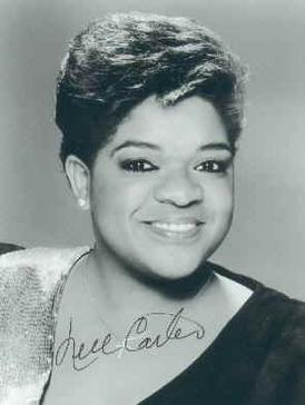 The image of American actress Nell Carter (194...