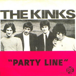 Party Line (The Kinks song) 1966 song performed by The Kinks