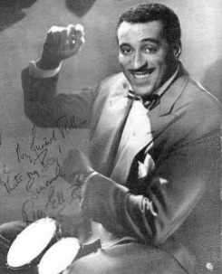 Ray Ellington 1915-1985, English singer, drummer, bandleader