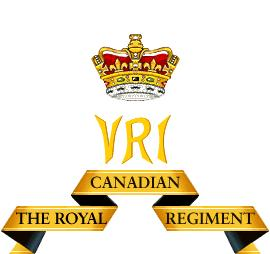 Regimental cypher of The Royal Canadian Regiment.