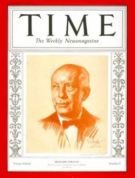 Strauss was on the cover of TIME in 1927 and (here) 1938 Strauss Time 1938.jpg