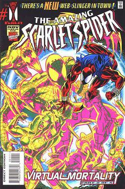 File:The Amazing Scarlet Spider (cover art - issue no. 1).jpg
