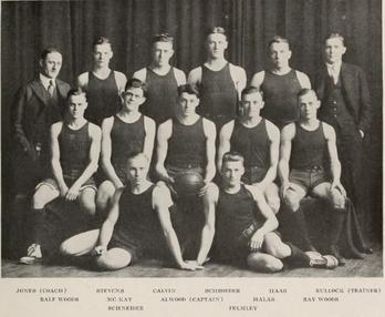 1916–17 Illinois Fighting Illini men's basketball team ...