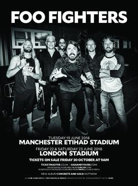 Foo Fighter Sonic Highways Tour Setlist