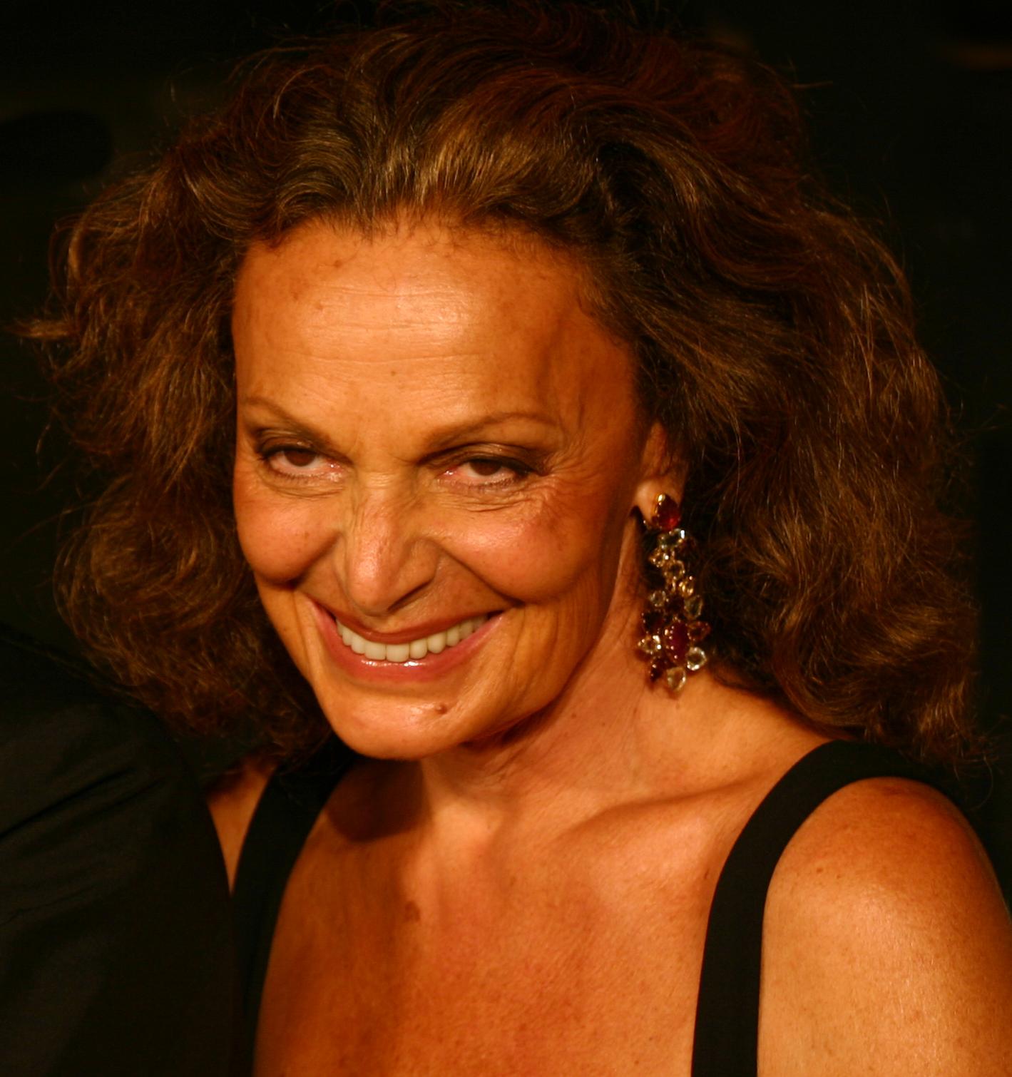 Fashion Designer Diane Furstenberg