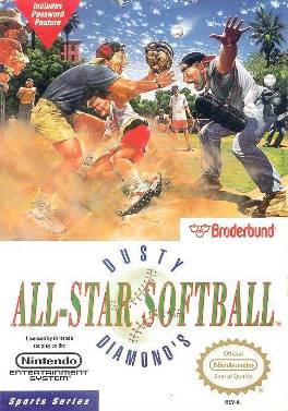 Famicom - Softball Tengoku Box Art